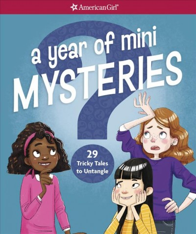 A Year of Mini Mysteries: 29 Tricky Tales to Untangle cover