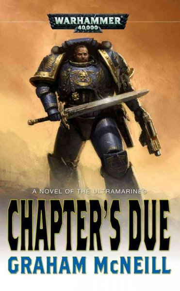 The Chapter's Due (Ultramarines) cover