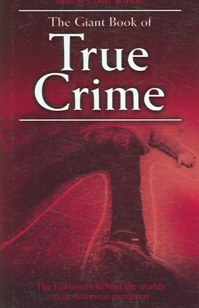 The Giant Book of True Crime cover