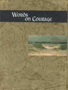 Words on Courage (Words for Life) cover