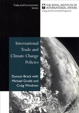 International Trade and Climate Change Policies (Trade and Environment Series) cover