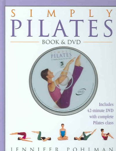 Simply Pilates Book & DVD cover
