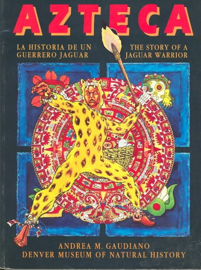 Azteca: The Story of a Jaguar Warrior cover