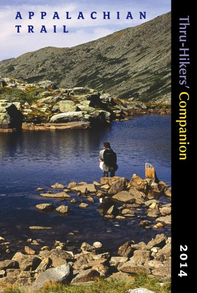 Appalachian Trail Thru-Hikers' Companion (2014) cover
