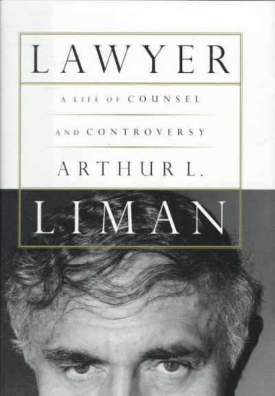 Lawyer: A Life of Counsel and Controversy cover