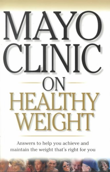 Mayo Clinic On Healthy Weight cover