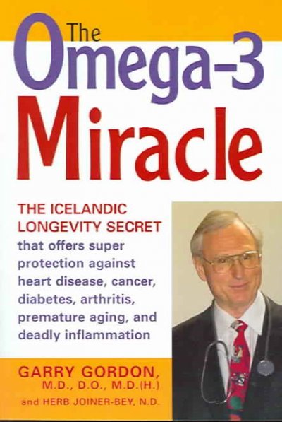 Omega-3 Miracle cover
