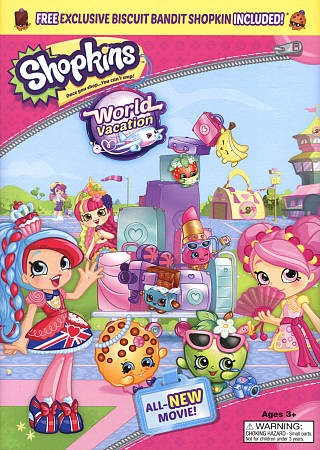 Shopkins World Vacation cover