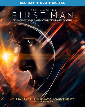 First Man [Blu-ray] cover