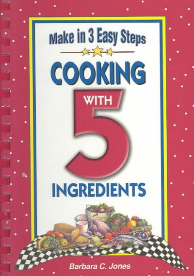 Cooking With 5 Ingredients cover