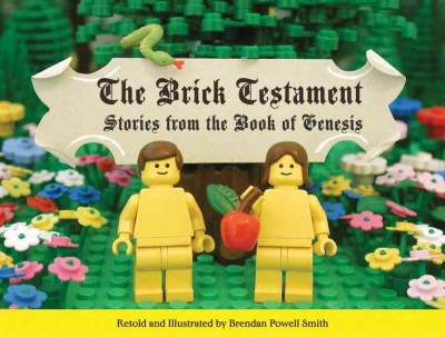 The Brick Testament: Stories from the Book of Genesis cover