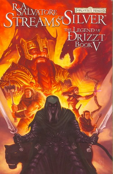 Forgotten Realms - The Legend Of Drizzt Volume 5: Streams Of Silver (Forgotten Realms Legend of Drizzt Graphic Novels) (v. 5) cover
