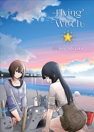 Flying Witch, 4 cover