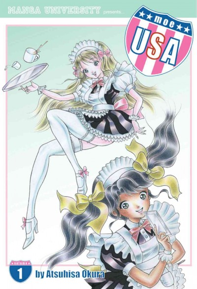 Moe USA Volume 1: Maid In Japan cover
