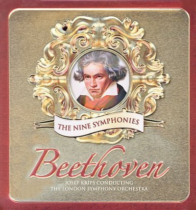 Beethoven: The Nine Symphonies (Tin Can) cover