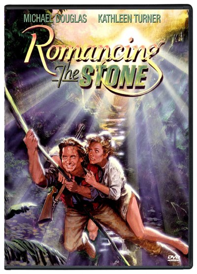 Romancing the Stone [VHS] cover