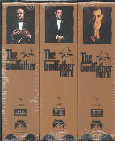 The Godfather Collection [VHS] cover