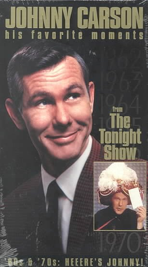 Johnny Carson - His Favorite Moments from The Tonight Show - '60s & '70s, Heeere's Johnny! [VHS] cover