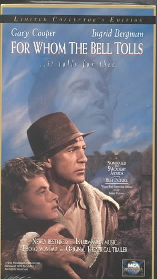 For Whom the Bell Tolls [VHS] cover