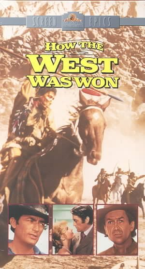 How the West Was Won [VHS] cover