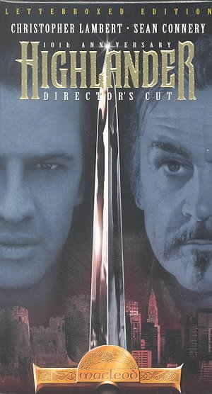 Highlander - 10th Anniversary Edition [VHS] cover