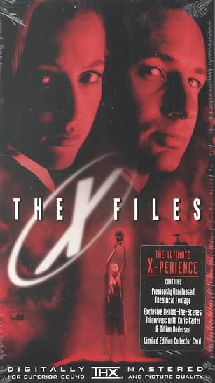 The X-Files (Movie) [VHS] cover