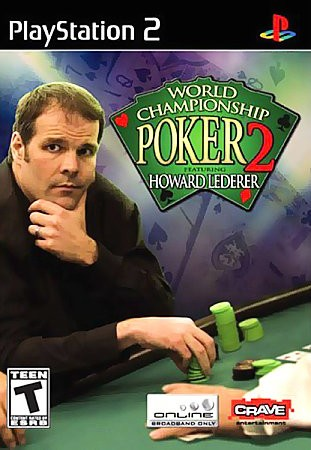 World Championship Poker 2 with Howard Lederer - PlayStation 2 cover