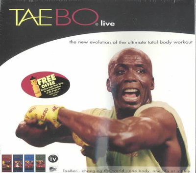 Tae-Bo Live [VHS] cover