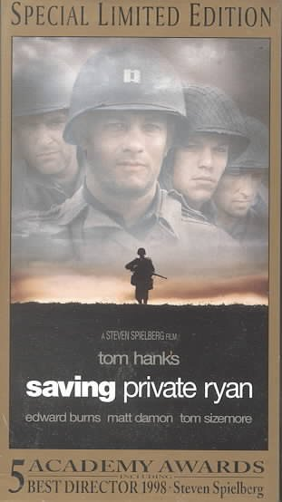 Saving Private Ryan [VHS] cover