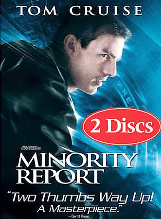 Minority Report (Widescreen Two-Disc Special Edition) cover