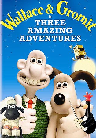 Wallace & Gromit in Three Amazing Adventures cover
