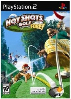 Hot Shots Golf Open Tee - Sony PSP cover