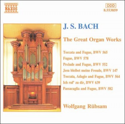J. S. Bach: The Great Organ Works cover