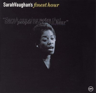 Sarah Vaughan's Finest Hour cover