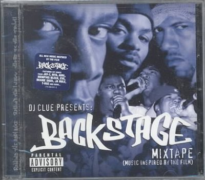 DJ Clue Presents: Backstage Mixtape cover