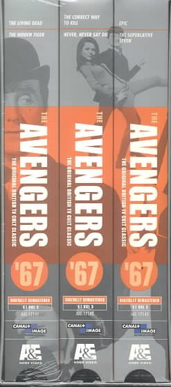 The Avengers '67: Set 2 [VHS] cover