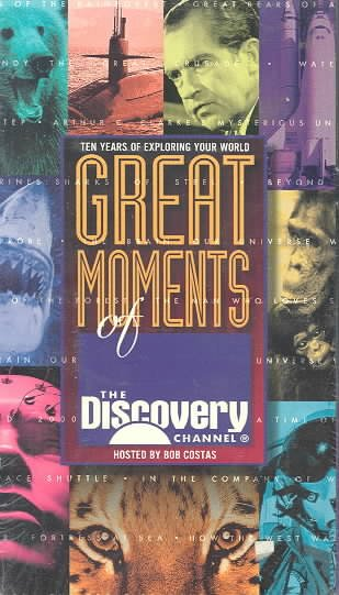 Great Moments of Discovery Channel [VHS] cover