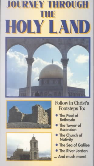 Journey Through the Holy Land [VHS] cover