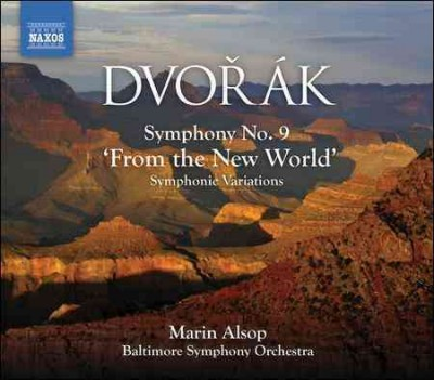 "Dvorak: Symphony No. 9; ""From The New World"" cover"