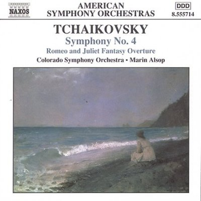 Tchaikovsky: Symphony No. 4 / Romeo and Juliet cover