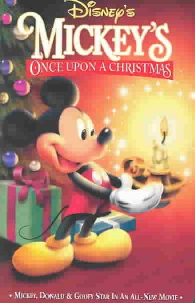 Disney's: Mickey's Once Upon a Christmas [VHS] cover