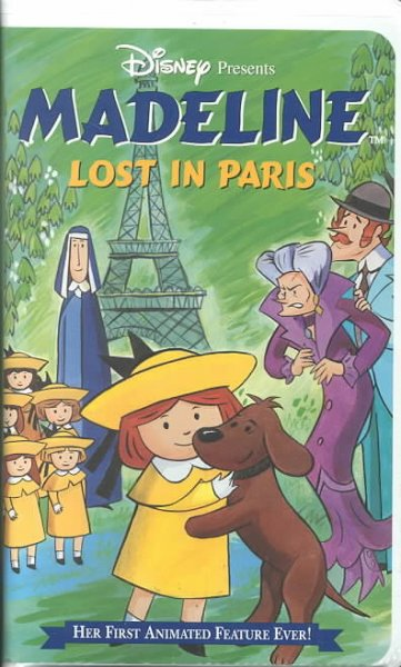 Madeline: Lost in Paris [VHS]