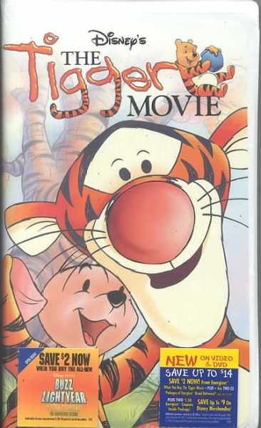 The Tigger Movie [VHS] cover