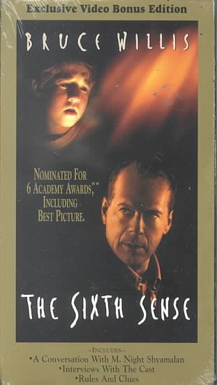 The Sixth Sense [VHS] cover