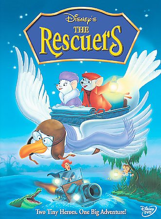 The Rescuers cover