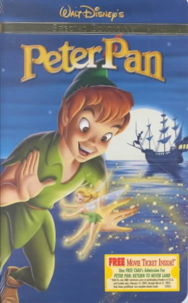 Peter Pan (Special Edition) [VHS] cover