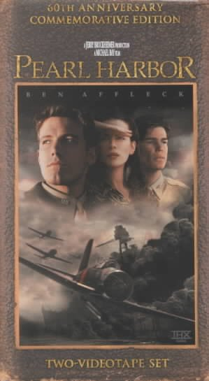 Pearl Harbor (Two-Videotape Set) (60th Anniversay Commemorative Edition) [VHS] cover