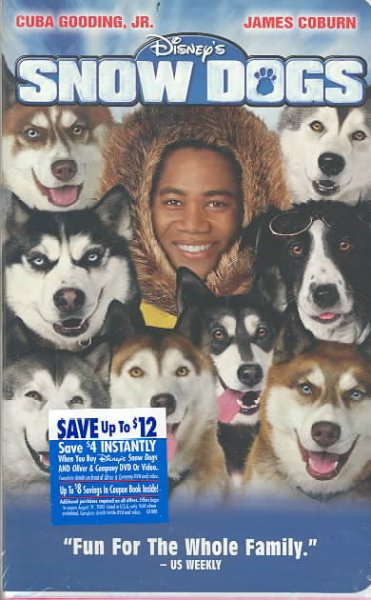 Snow Dogs [VHS] cover