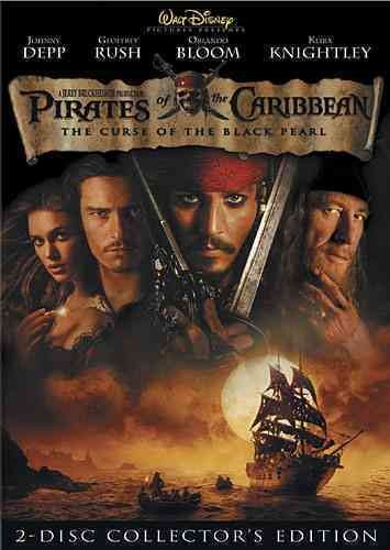 Pirates of the Caribbean: The Curse of the Black Pearl (Two-Disc Collector's Edition) cover