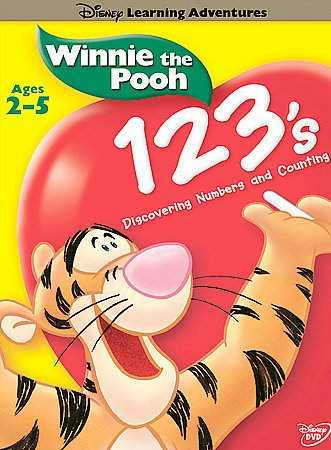 Disney's Learning Adventures - Winnie the Pooh - 123's cover